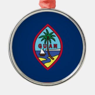 Low Cost! Guam Flag Metal Ornament