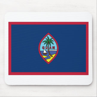 Low Cost! Guam Flag Mouse Pad