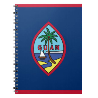 Low Cost! Guam Flag Notebooks