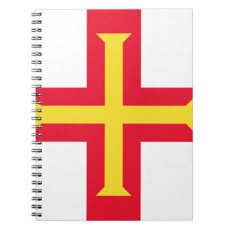 Low Cost! Guernsey Flag Notebook