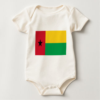 Low Cost! Guinea-Bissau Flag Baby Bodysuit