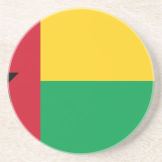Low Cost! Guinea-Bissau Flag Coaster