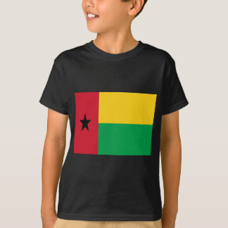 Low Cost! Guinea-Bissau Flag T-Shirt