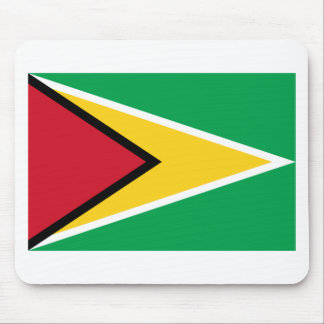 Low Cost! Guyana Flag Mouse Pad