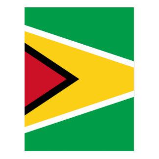 Low Cost! Guyana Flag Postcard