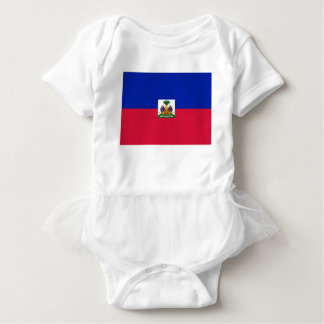 Low Cost! Haiti Flag Baby Bodysuit