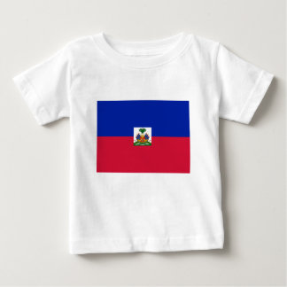 Low Cost! Haiti Flag Baby T-Shirt