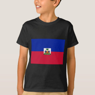 Low Cost! Haiti Flag T-Shirt