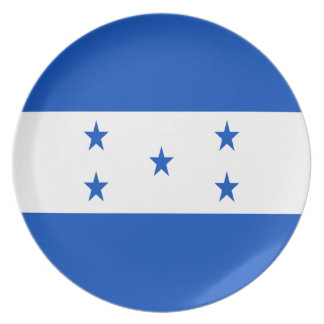Low Cost! Honduras Flag Plate