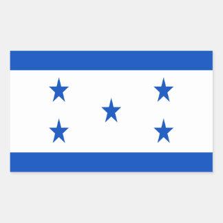 Low Cost! Honduras Flag Rectangular Sticker