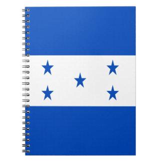 Low Cost! Honduras Flag Spiral Notebook