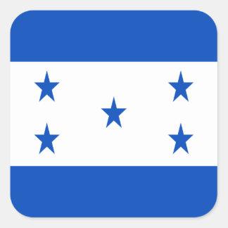 Low Cost! Honduras Flag Square Sticker
