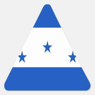 Low Cost! Honduras Flag Triangle Sticker
