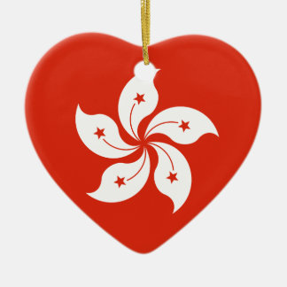 Low Cost! Hong Kong Flag Ceramic Ornament