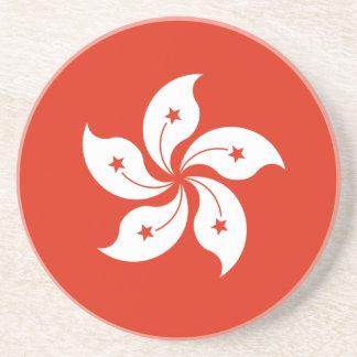 Low Cost! Hong Kong Flag Coaster