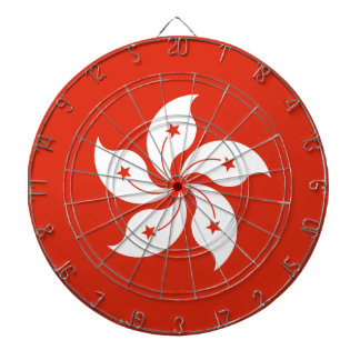 Low Cost! Hong Kong Flag Dartboard