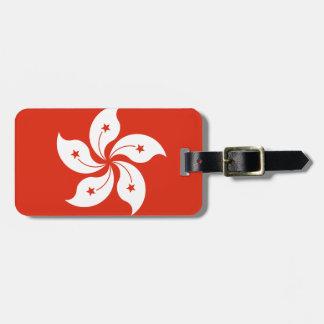 Low Cost! Hong Kong Flag Luggage Tag
