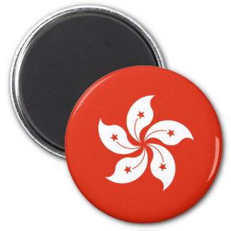 Low Cost! Hong Kong Flag Magnet