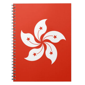 Low Cost! Hong Kong Flag Notebook