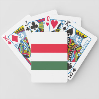 Low Cost! Hungary Flag Bicycle Playing Cards