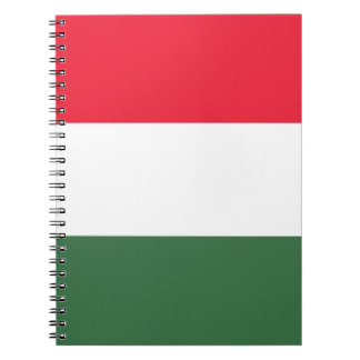 Low Cost! Hungary Flag Notebook