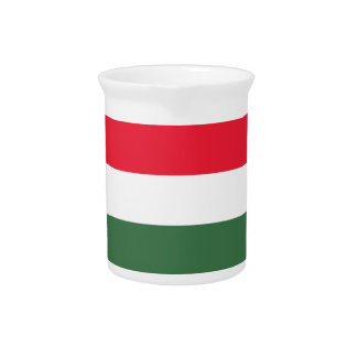 Low Cost! Hungary Flag Pitcher