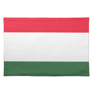 Low Cost! Hungary Flag Placemat