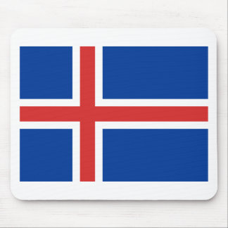 Low Cost! Iceland Flag Mouse Pad