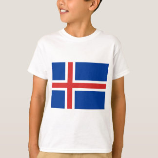Low Cost! Iceland Flag T-Shirt