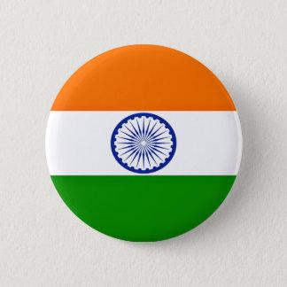 Low Cost! India Flag 6 Cm Round Badge
