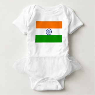 Low Cost! India Flag Baby Bodysuit