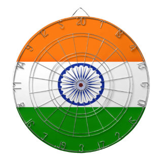 Low Cost! India Flag Dartboard