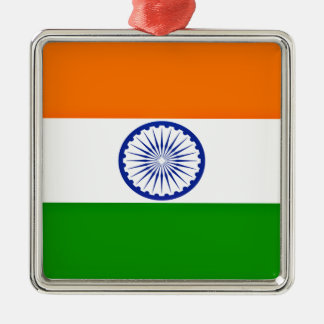 Low Cost! India Flag Metal Ornament