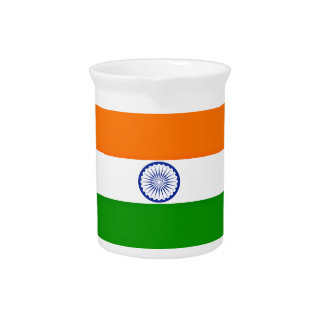 Low Cost! India Flag Pitcher