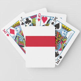 Low Cost! Indonesia Flag Bicycle Playing Cards