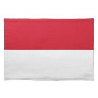 Low Cost! Indonesia Flag Placemat