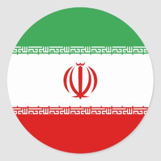 Low Cost! Iran Flag Classic Round Sticker