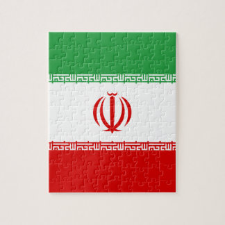 Low Cost! Iran Flag Jigsaw Puzzle