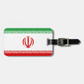 Low Cost! Iran Flag Luggage Tag