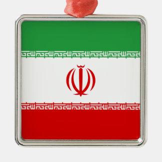 Low Cost! Iran Flag Metal Ornament