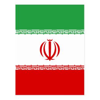 Low Cost! Iran Flag Postcard