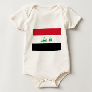 Low Cost! Iraq Flag Baby Bodysuit