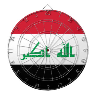 Low Cost! Iraq Flag Dartboard