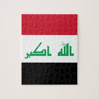 Low Cost! Iraq Flag Jigsaw Puzzle