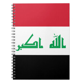 Low Cost! Iraq Flag Notebook