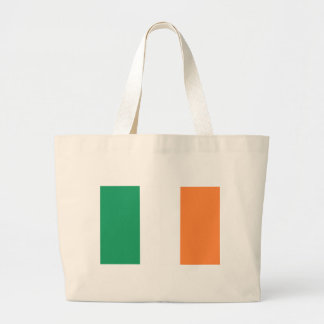 Low Cost! Ireland Flag Large Tote Bag
