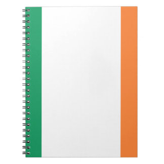 Low Cost! Ireland Flag Spiral Notebook