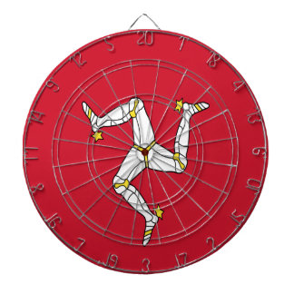 Low Cost! Isle of Man Dartboard