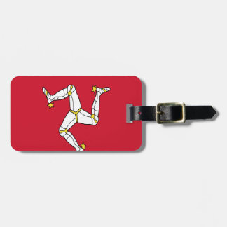 Low Cost! Isle of Man Luggage Tag