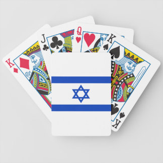 Low Cost! Israel Flag Bicycle Playing Cards